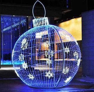 световая фигура шар
